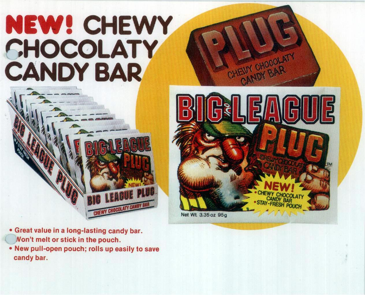 Big League Plug sales sheet.