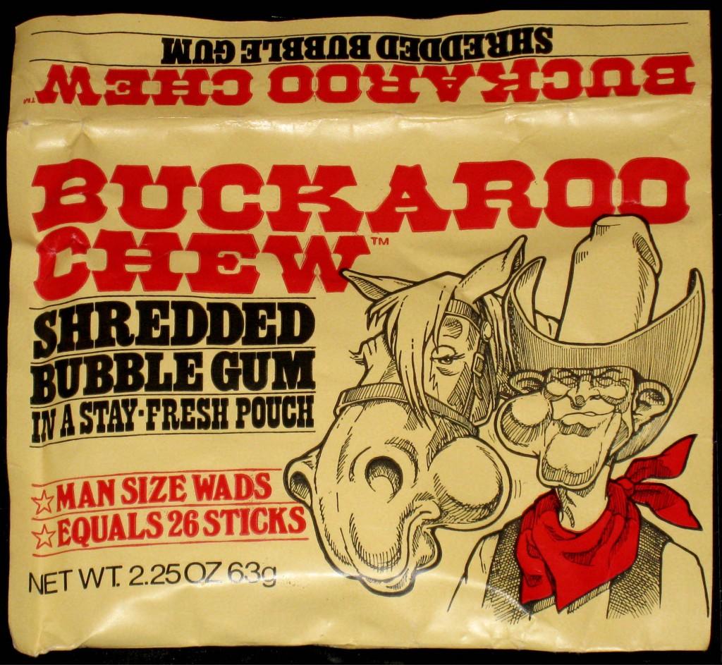 Amurol's Buckaroo Chew pack - circa 1981