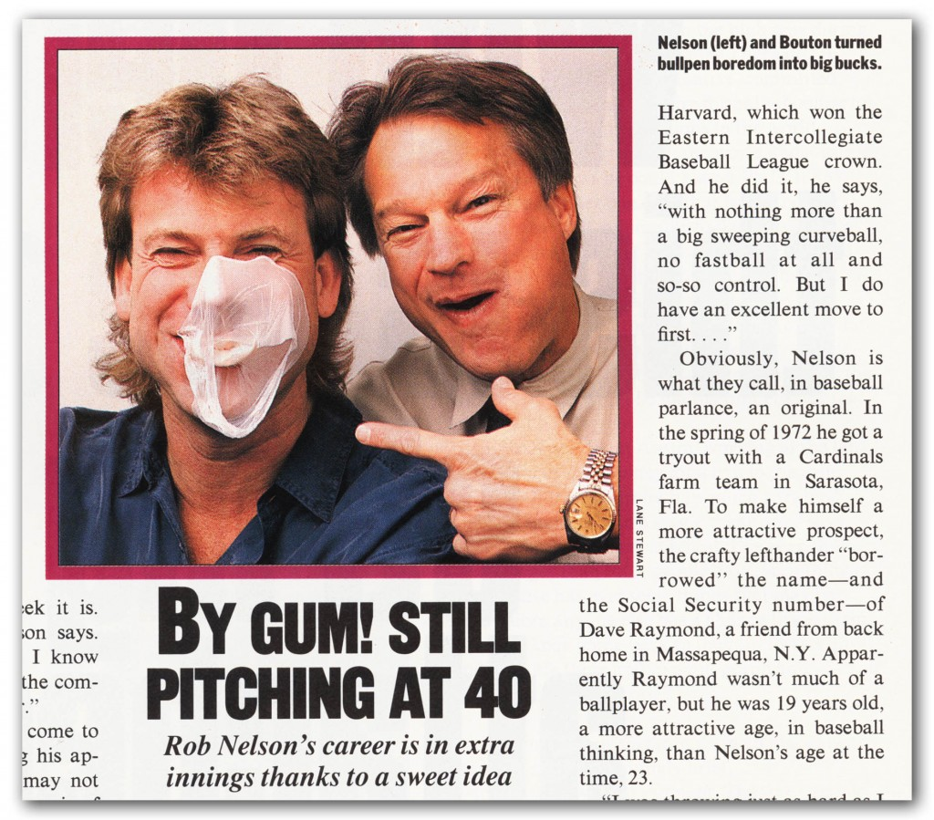 Press clipping from the April 9th, 1990 issue of Sports Illustrated