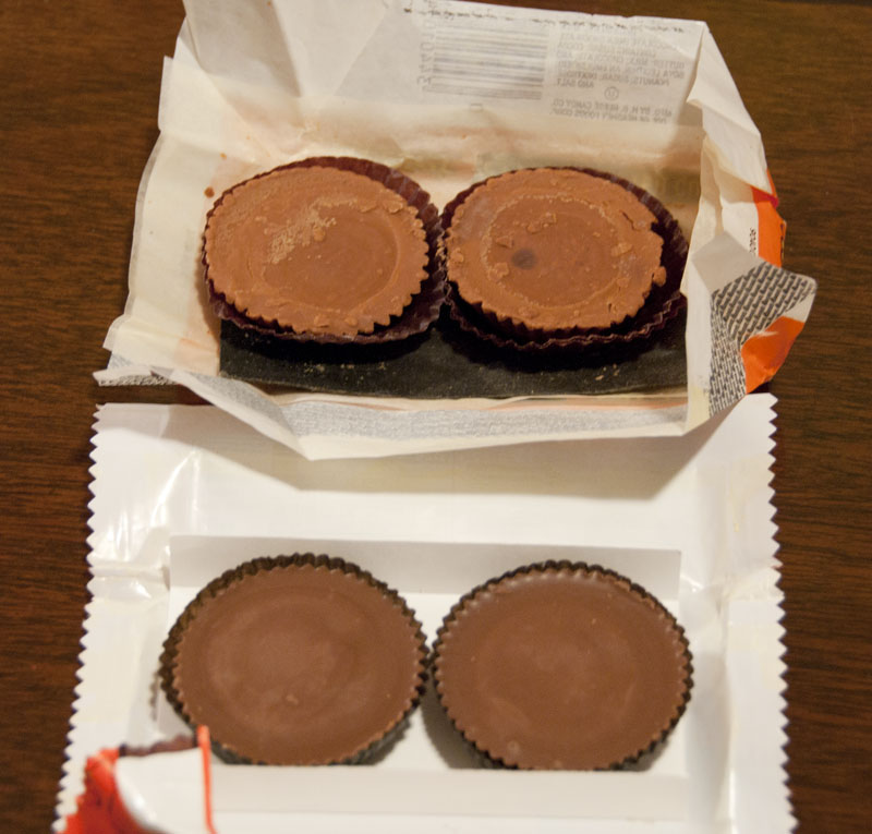 1980 Reese's flipped
