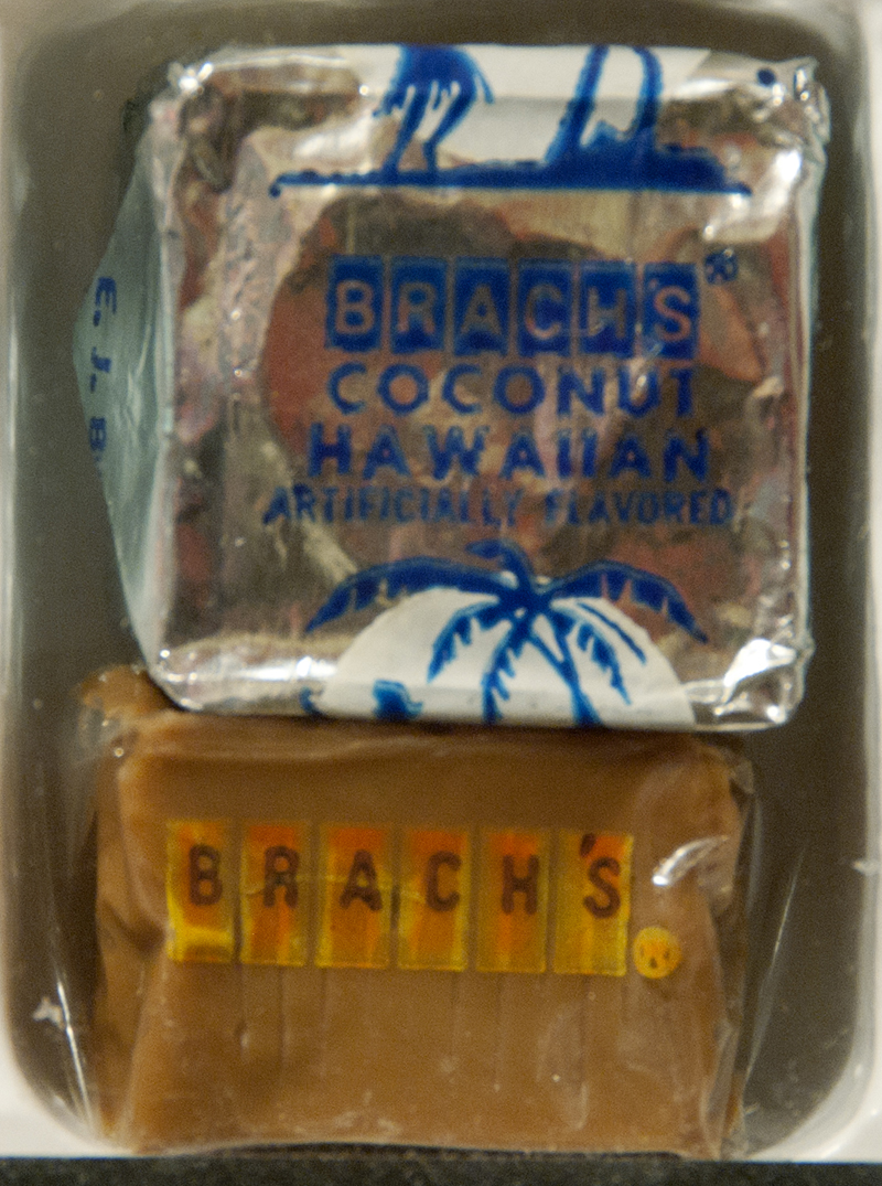Brach's Coconut Hawaiian and Brach's Caramel - 1970's