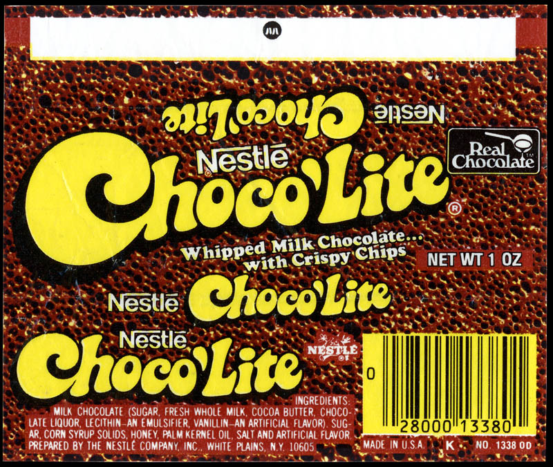 choco u2019lite  u2013 with crispy chips  not just bubbles