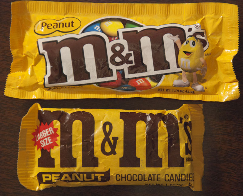 M&M's Peanut comparison