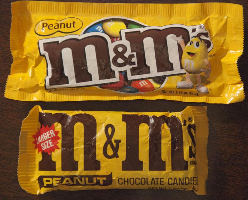 M&M's Peanut comparison