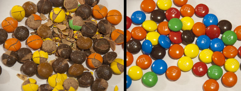 M&M's Plain revealed