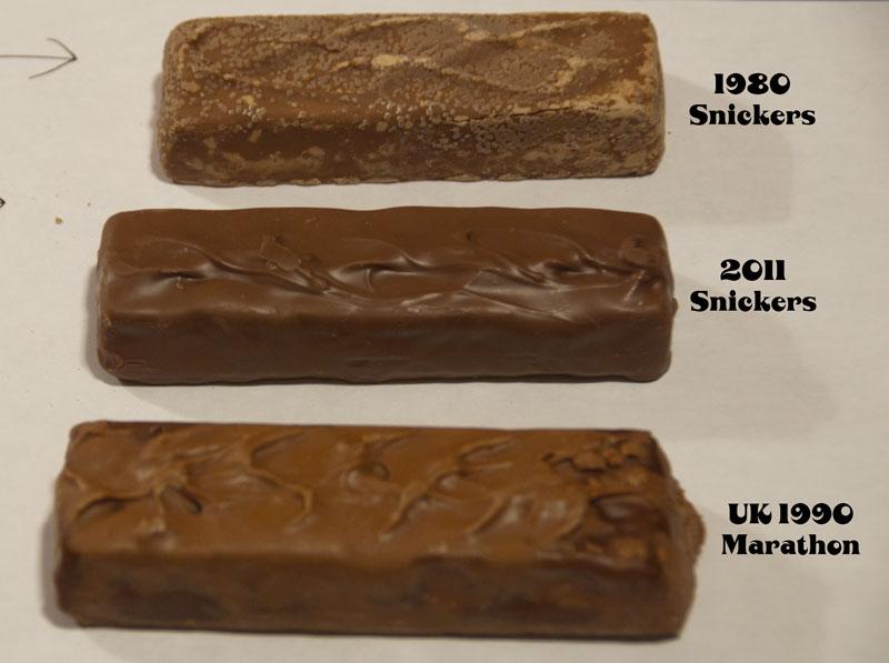 Snickers Trio - 1980-2011