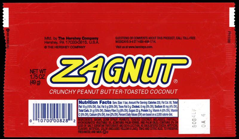 They named it what?!? – A Zagnut-o-Rama! | CollectingCandy.com