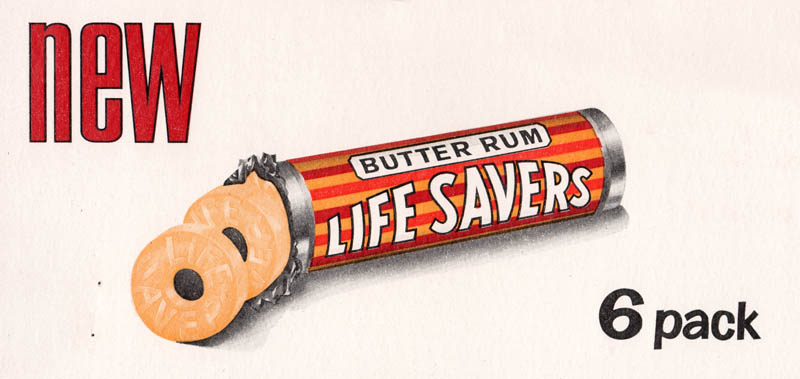 christmas lifesaver book candy