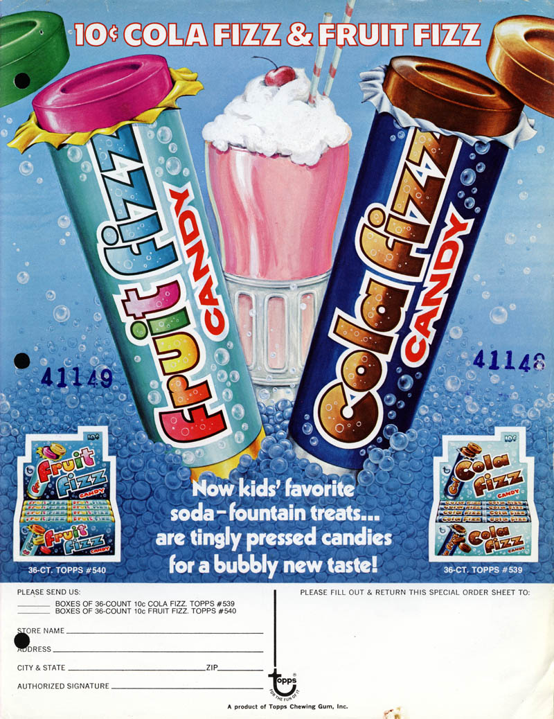 Soda Fizz Candy