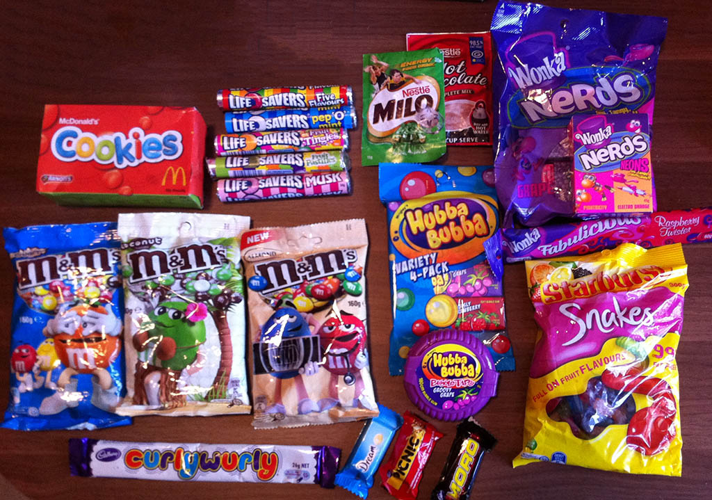 Candy Care Package from Australia! And what are those ...