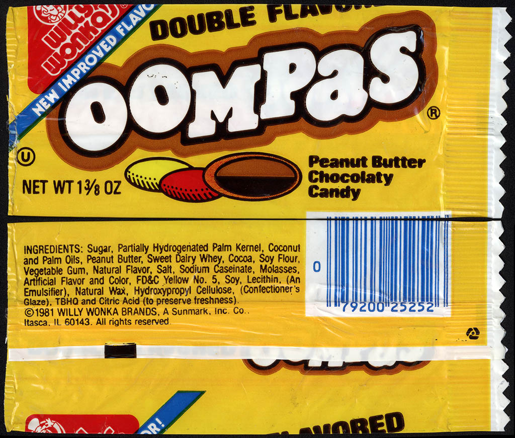 CC_Sunmark – Willy Wonka Brands – Double Flavored Oompas – candy