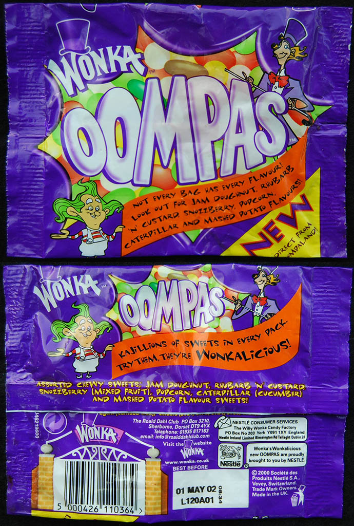 Willy Wonka's Outstanding Oompas! | CollectingCandy com
