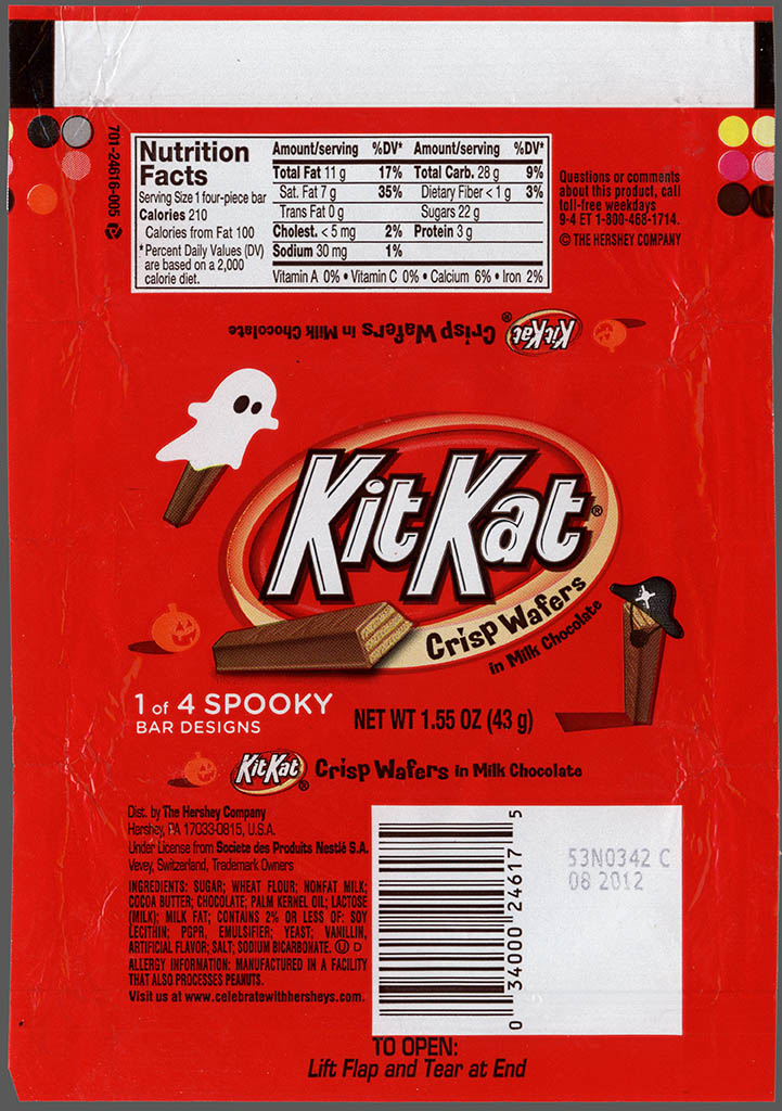 cc_hershey kit kat halloween spooky designs candy bar wrapper october 2011