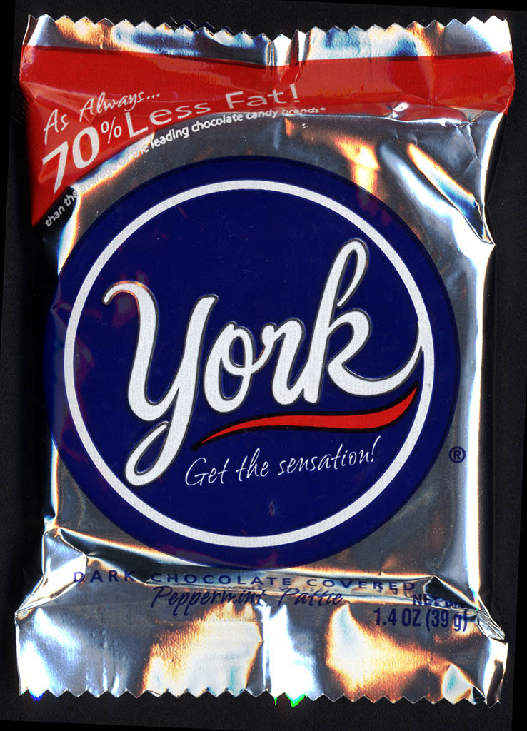 ... - York - dark chocolate covered Peppermint Pattie - unopened - 2012
