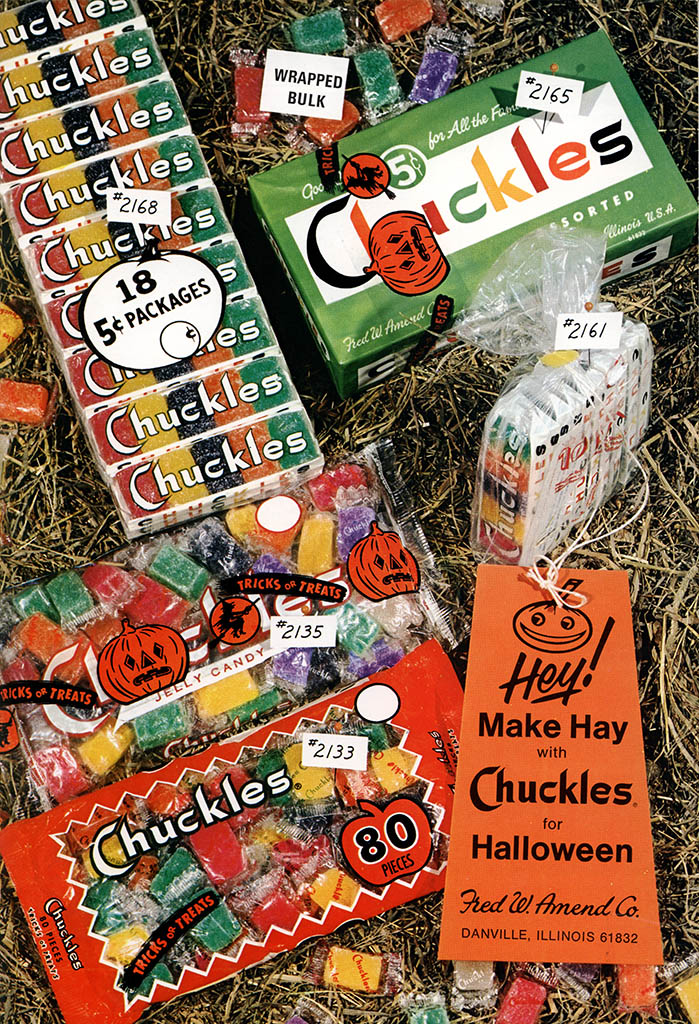Vintage Candy Industry Halloween Trade Ads