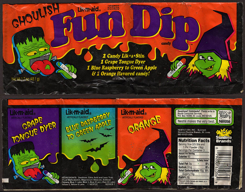 a pair of halloween candy dips! | collectingcandy