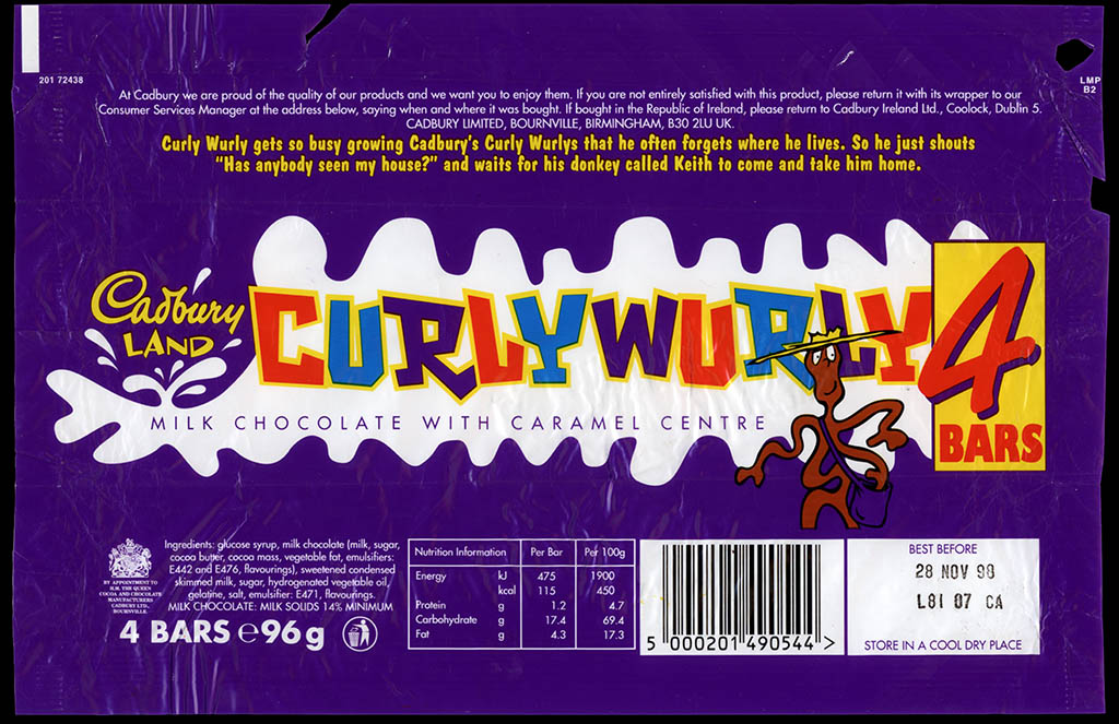 Catching Up With CurlyWurly! | CollectingCandy.com