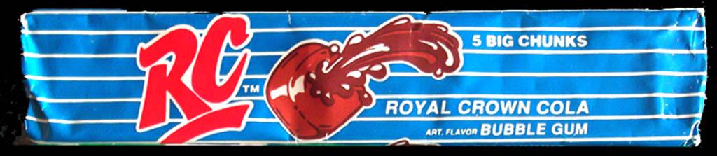 Amurol - RC Cola gum - 1980's Gregg Koenig