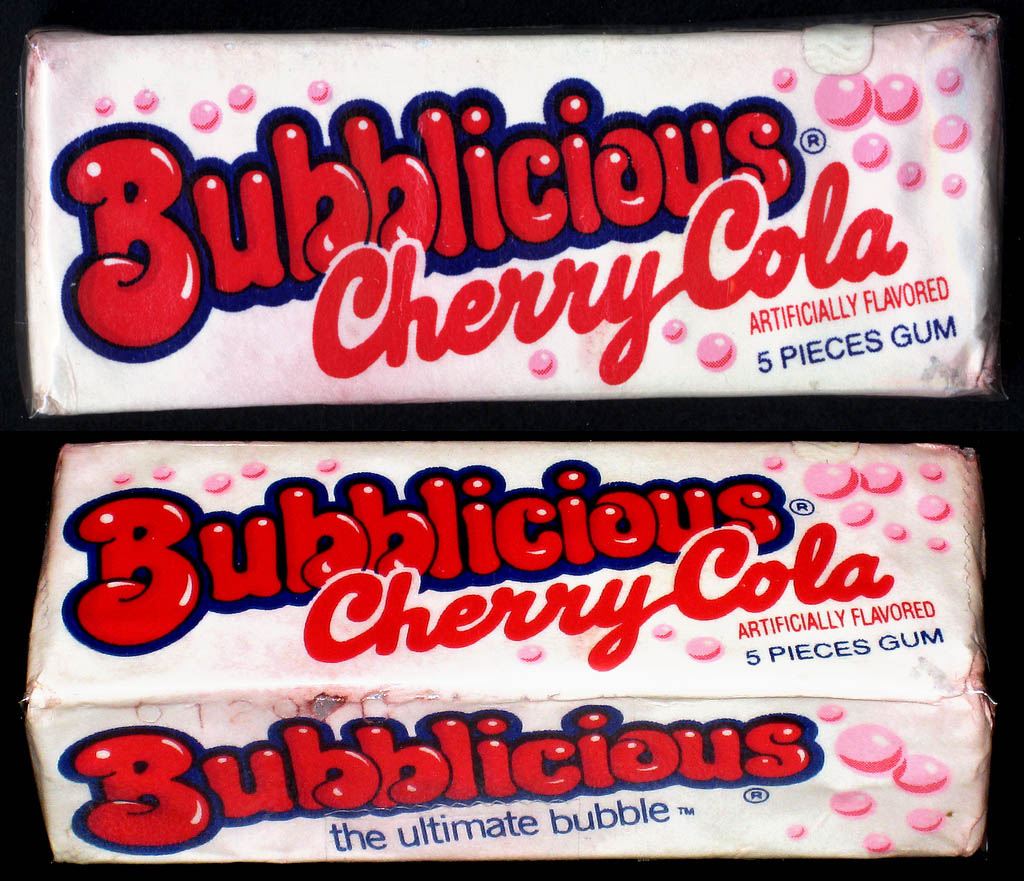Bubblicious - Cherry Cola - bubble gum pack - 1980's