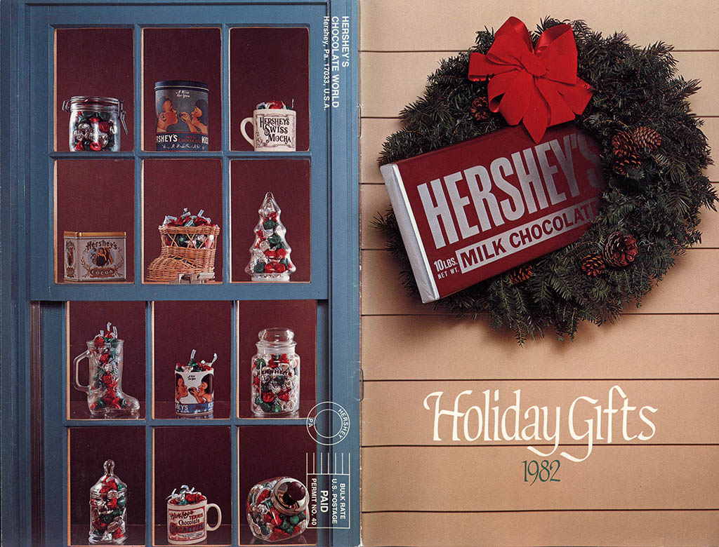 Hershey's Holiday Catalog 1982 - Page 01