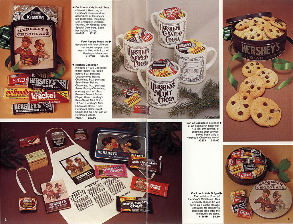Hershey's Holiday Catalog 1982 - Page 03