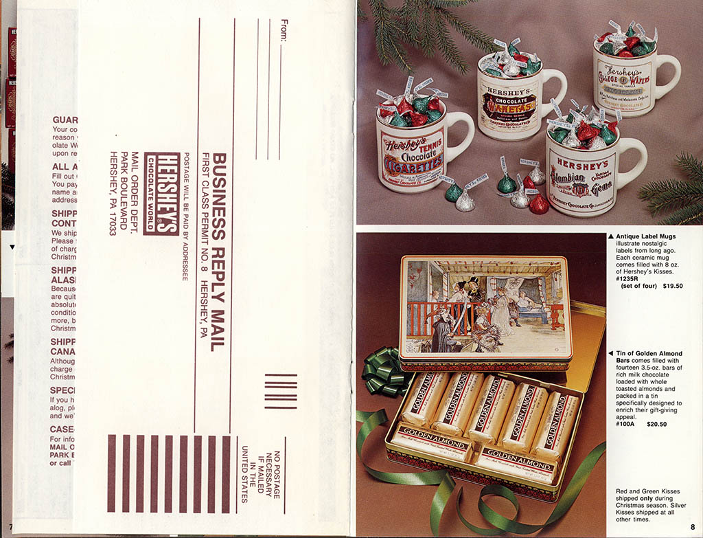 Hershey's Holiday Catalog 1982 - Page 06