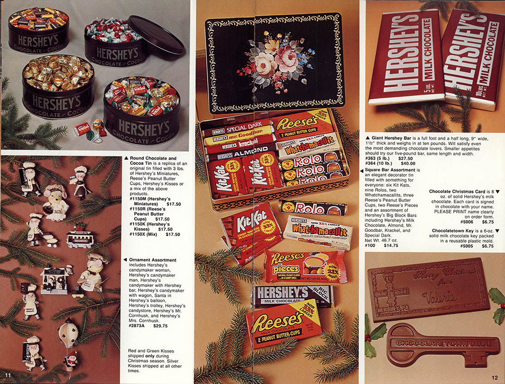 Hershey's Holiday Catalog 1982 - Page 08