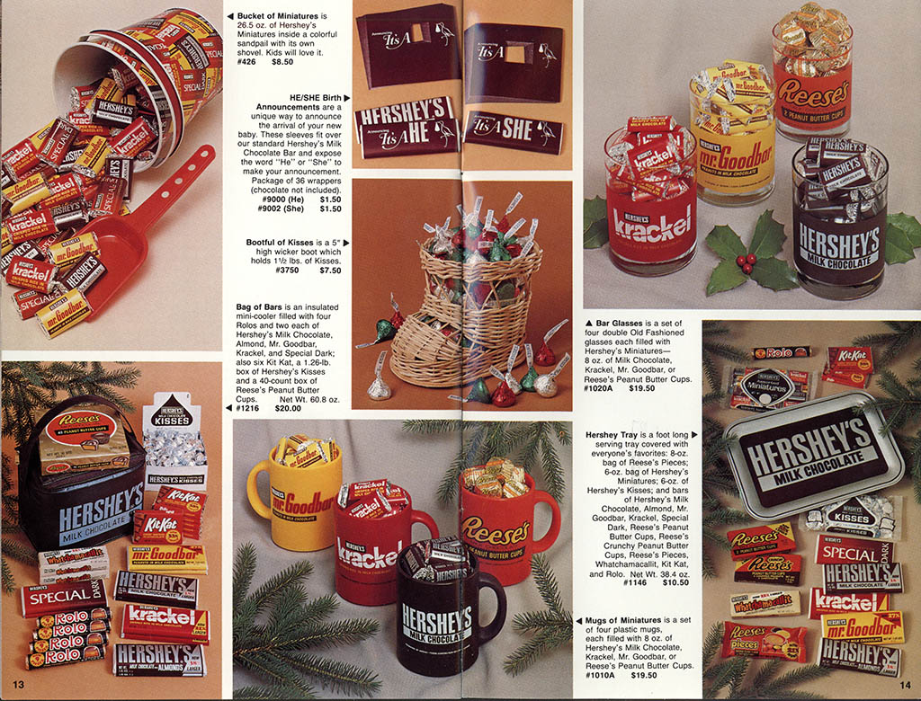 Hershey's Holiday Catalog 1982 - Page 09