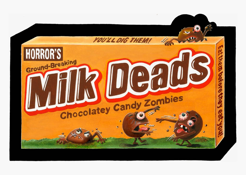 Wacky Packages ANS 10 - Milk Deads - Coming in March 2013