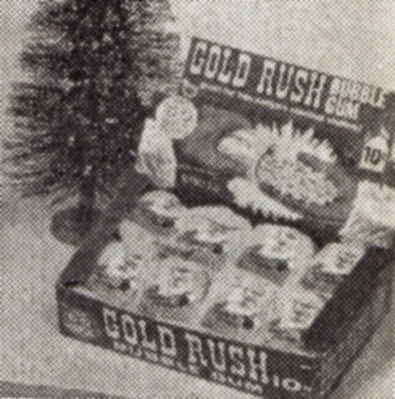 Topps Gold Rush Christmas edition photo - 1969