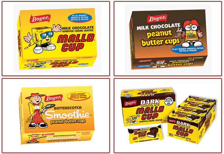 Boyer Mascots - 2012 - Image Source boyercandies_com