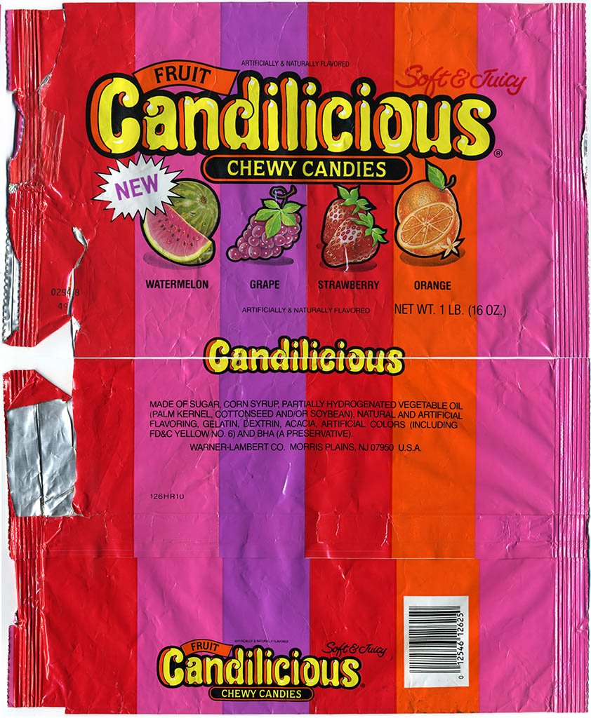 Candilicious chewy candies bag - 1988