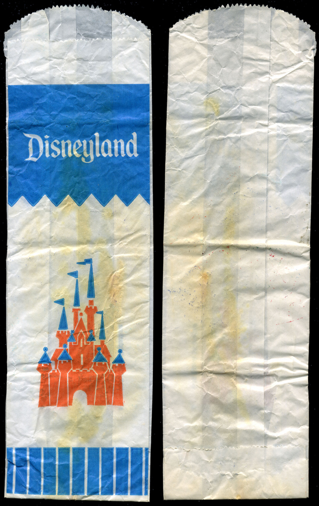 Disneyland - small candy bag - 1970's
