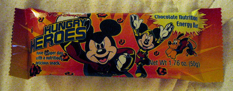 Disney Hungry Heroes bar - Image courtesy The Candy Enthusiast