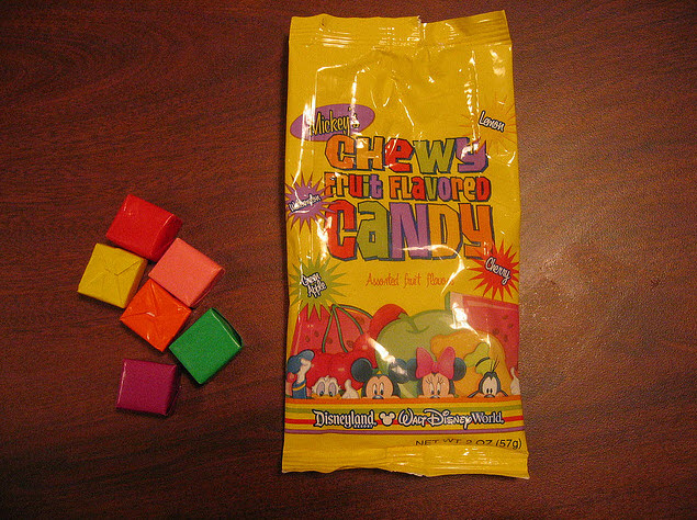 Mickeys Chewy Fruit Flavored Candy - Image Courtesy Princess of llyr