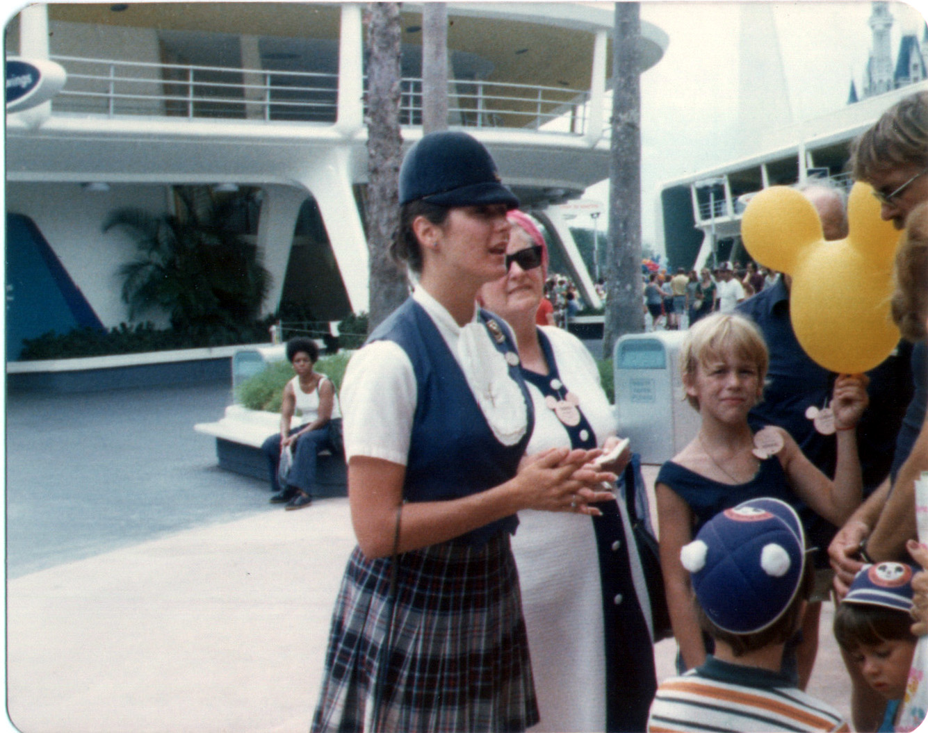 My family at Disney World 1975