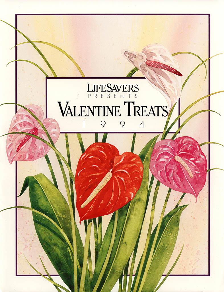 Nabisco Foods - Lifesavers - Valentines Treats 1994 - brochure - cover