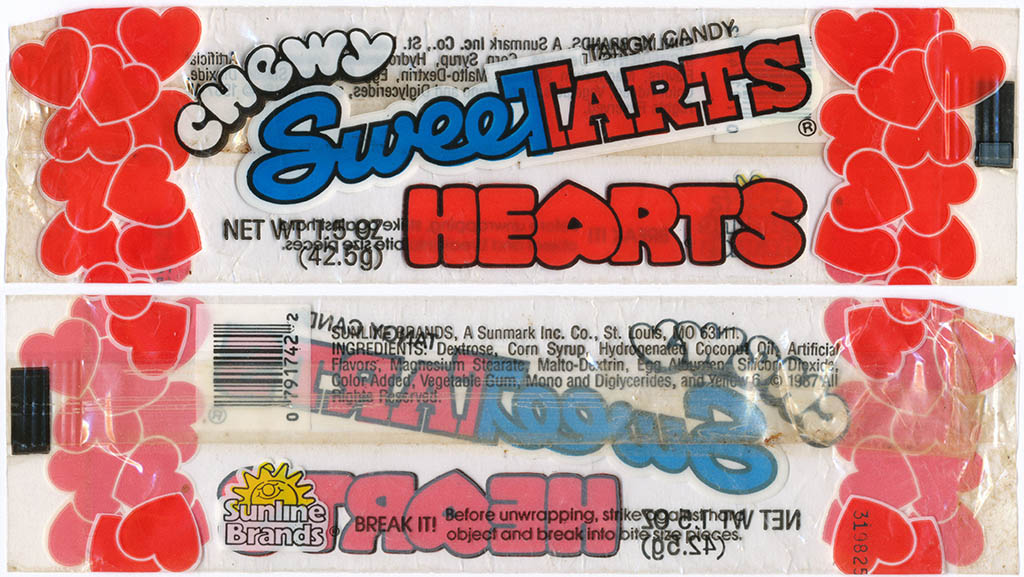 Sunline-Sunmark - Chewy Sweetarts Hearts - 1987 - Courtesy Brandon Coker
