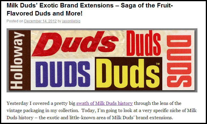 Exotic Milk Duds