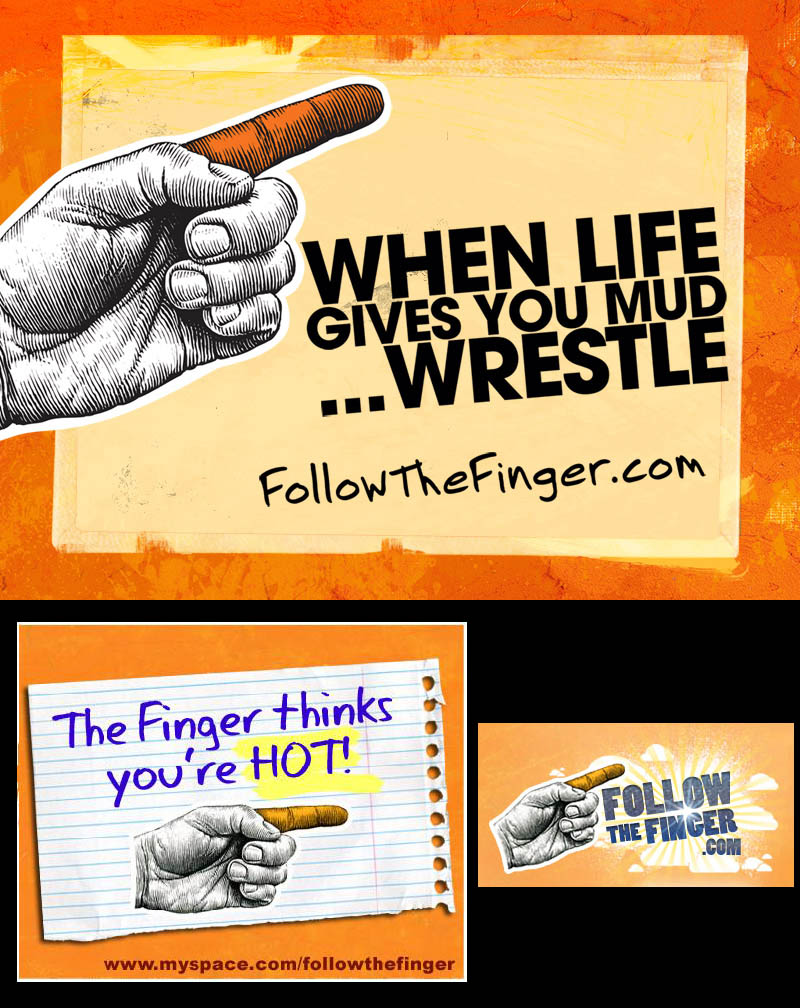 "Butterfinger ""The Finger"" images - 2008"