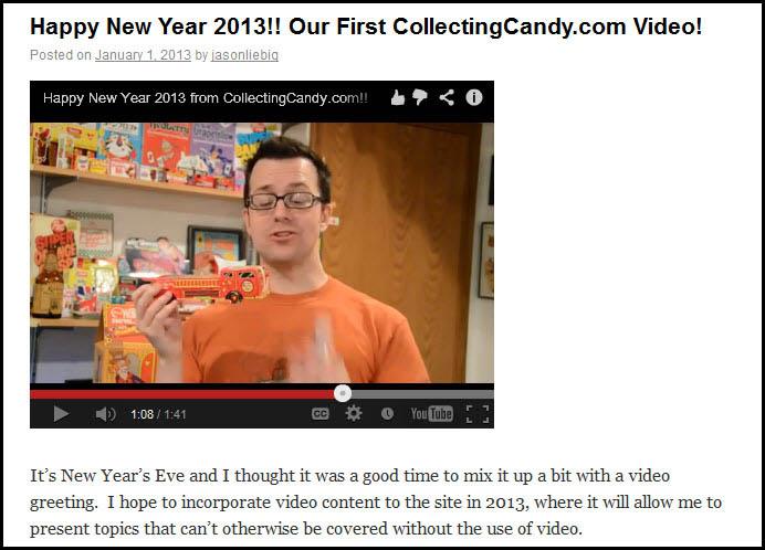 Firetruck New Year's Video