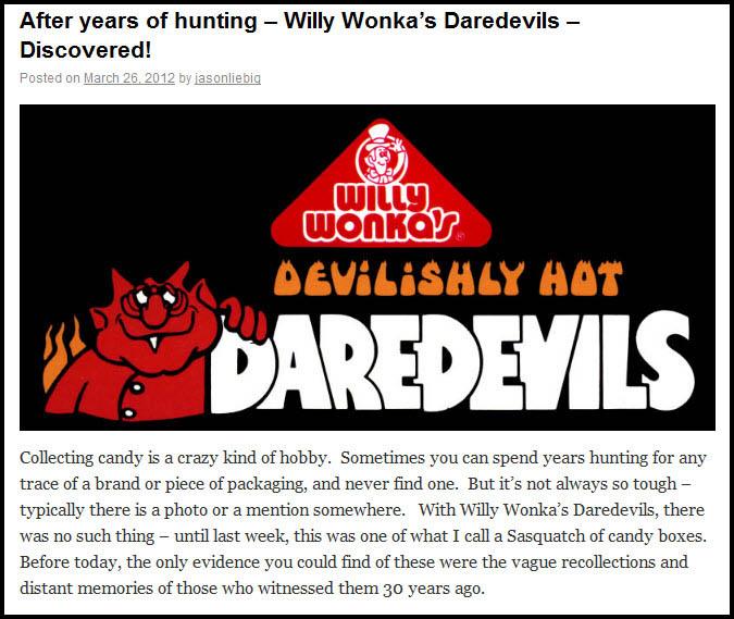 Wonka Daredevils