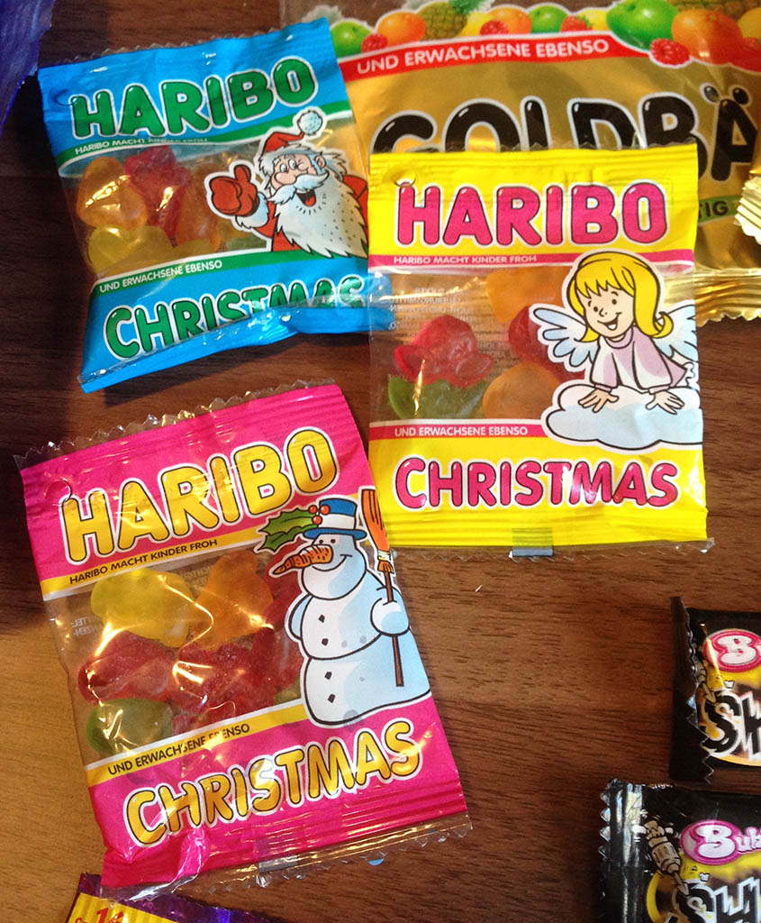 Haribo Christmas mini-packs - 2012