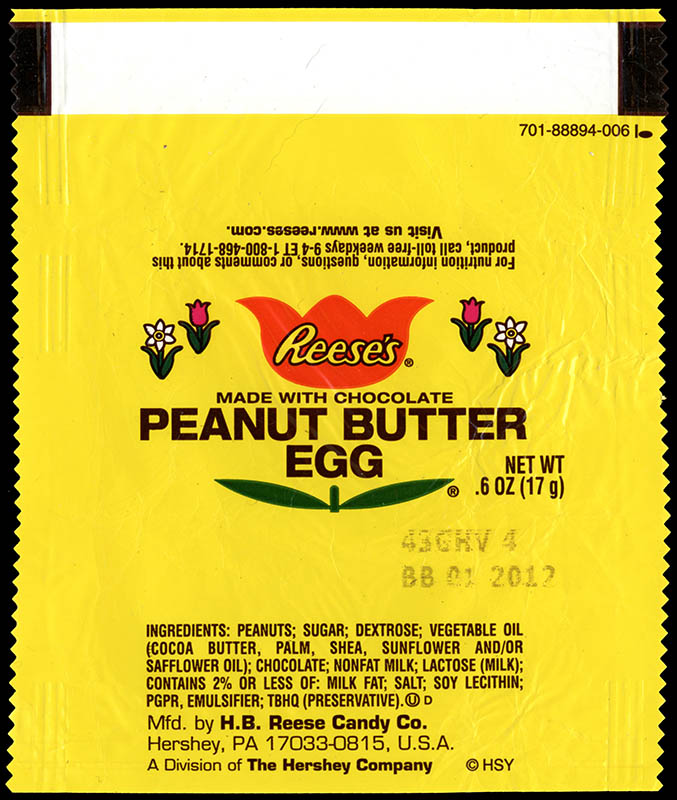 Hershey - Reese's Peanut Butter Egg - .6oz mini package - Easter 2011