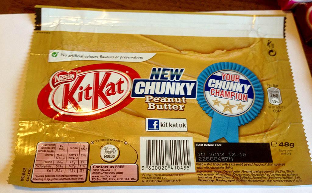 Kit Kat Chunky Peanut Butter - February 2013