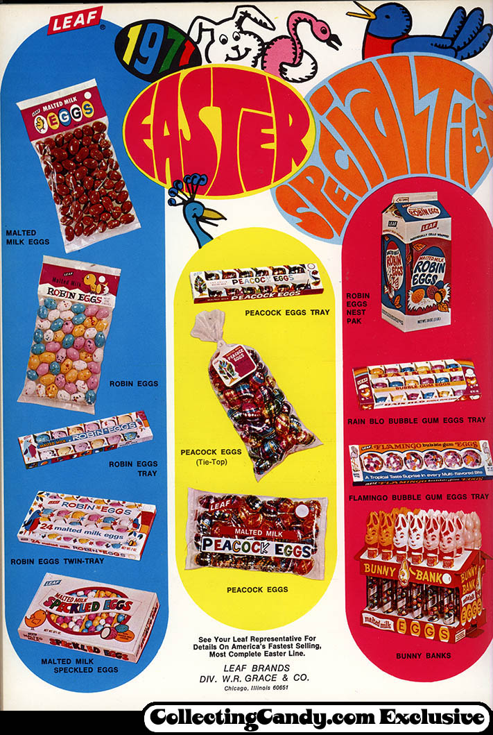 Leaf - Easter Candy Trade ad - 1971 Easter Specialties - December 1970