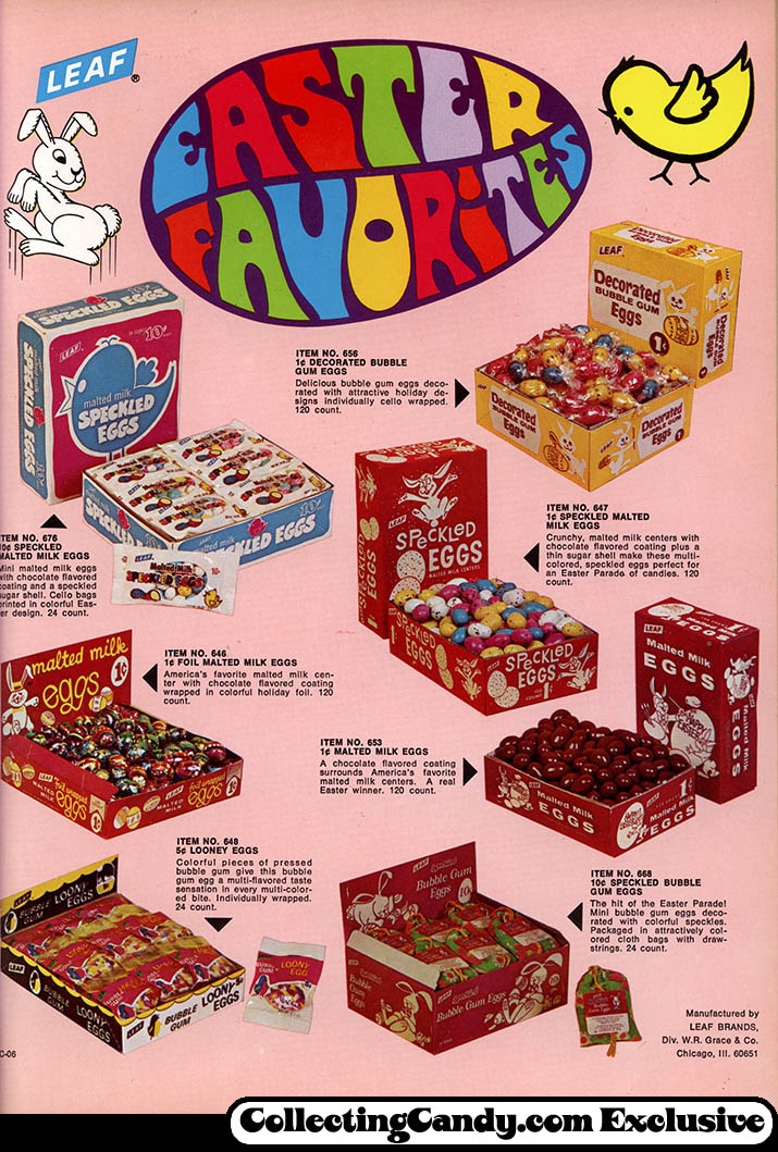 Leaf - Easter Candy Trade ad - Easter Favorites - December 1970