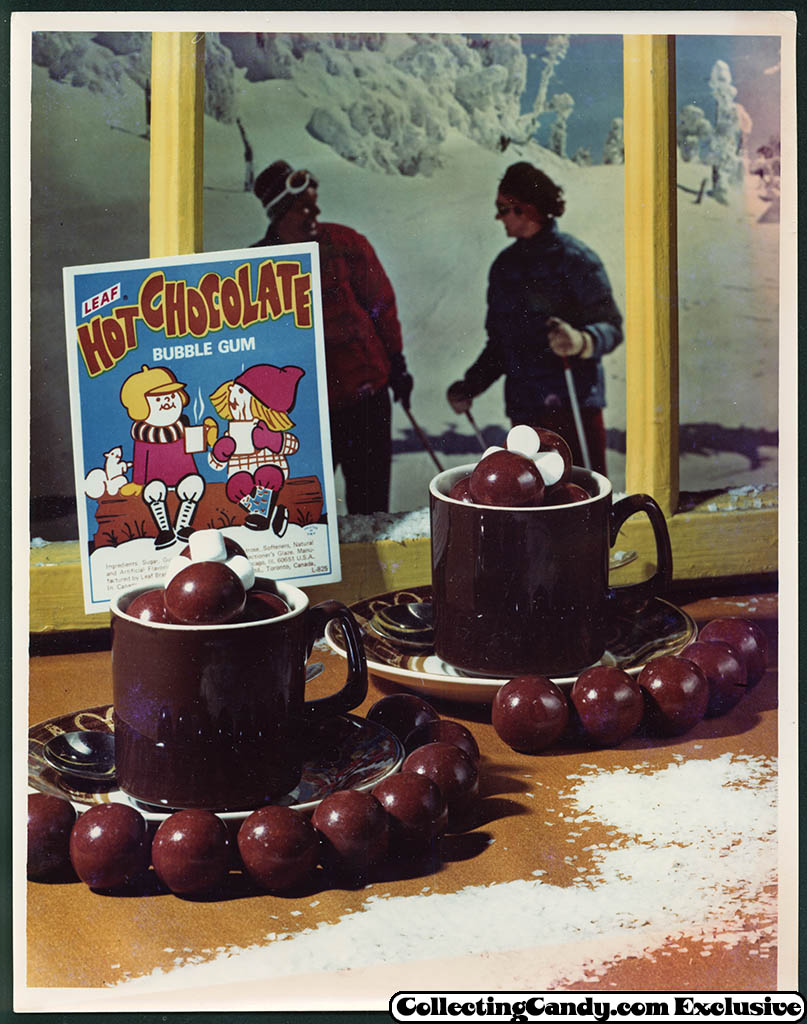 Leaf - vending bubble gum promotional photo - Hot Chocolate - early 70's