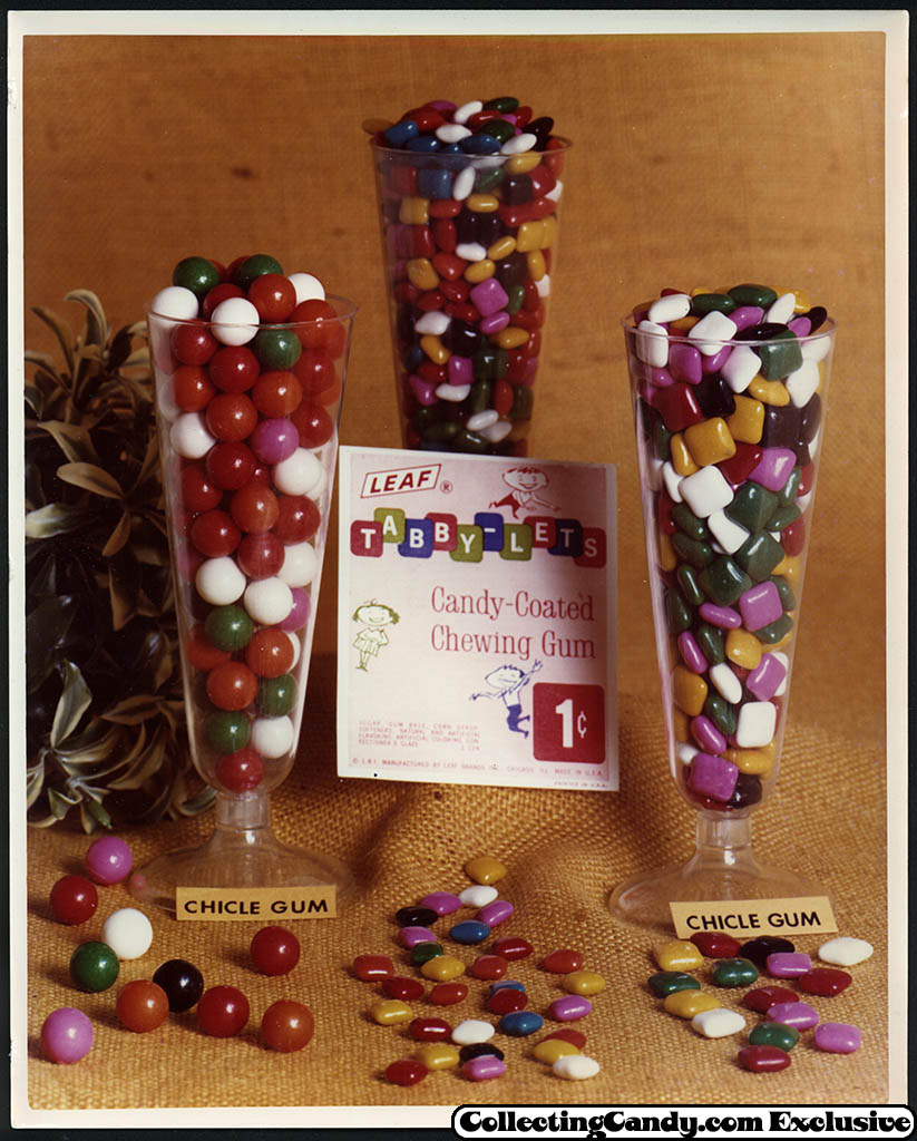 Leaf - vending bubble gum promotional photo - Tabby-Lets - early 70's