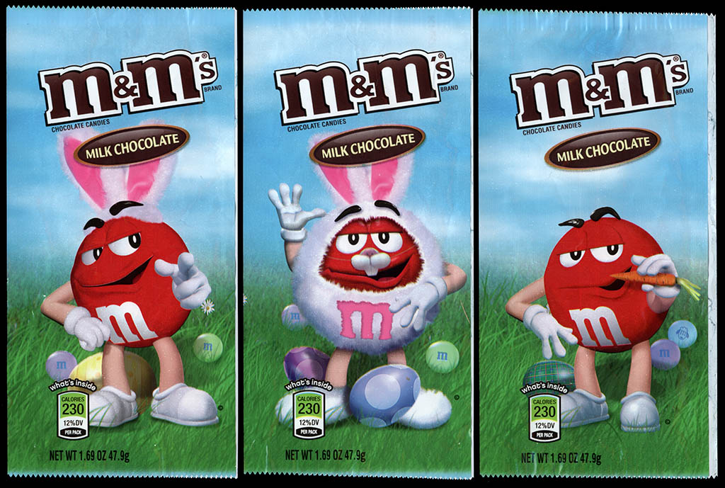 Mars - M&M's Milk Chocolate Easter holiday packs - Red - 2012-2013